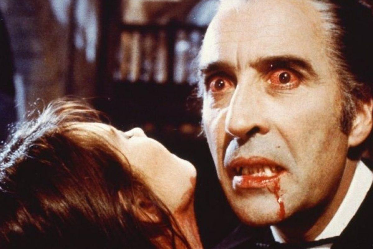 """Christopher saltó a la fama con su interpretación de """"Drácula"""". Foto:IMDb"""