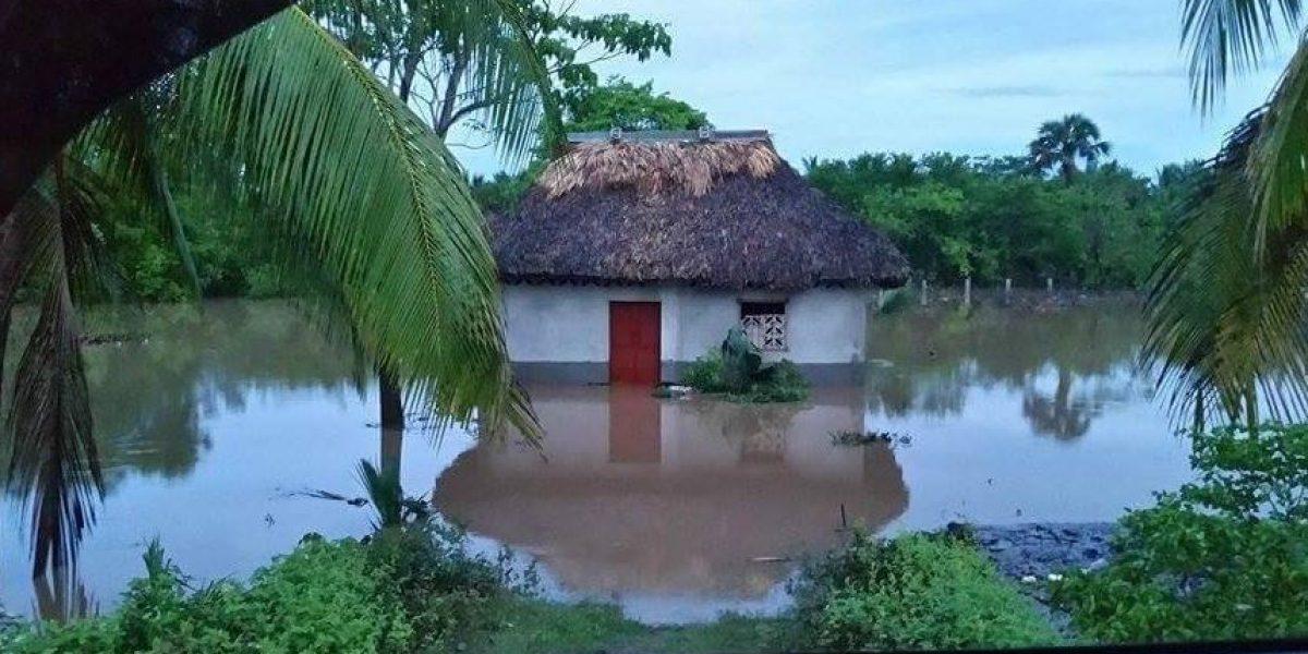 Conred reporta más de mil damnificados por fuertes lluvias