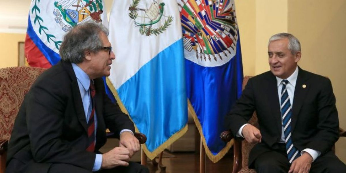 EE. UU. espera que Guatemala cope la atención en la asamblea de la OEA