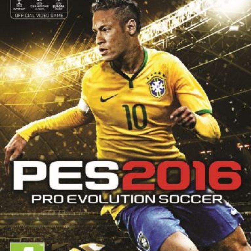 """Portada """"PES 2016"""" para PC. Foto:Konami"""