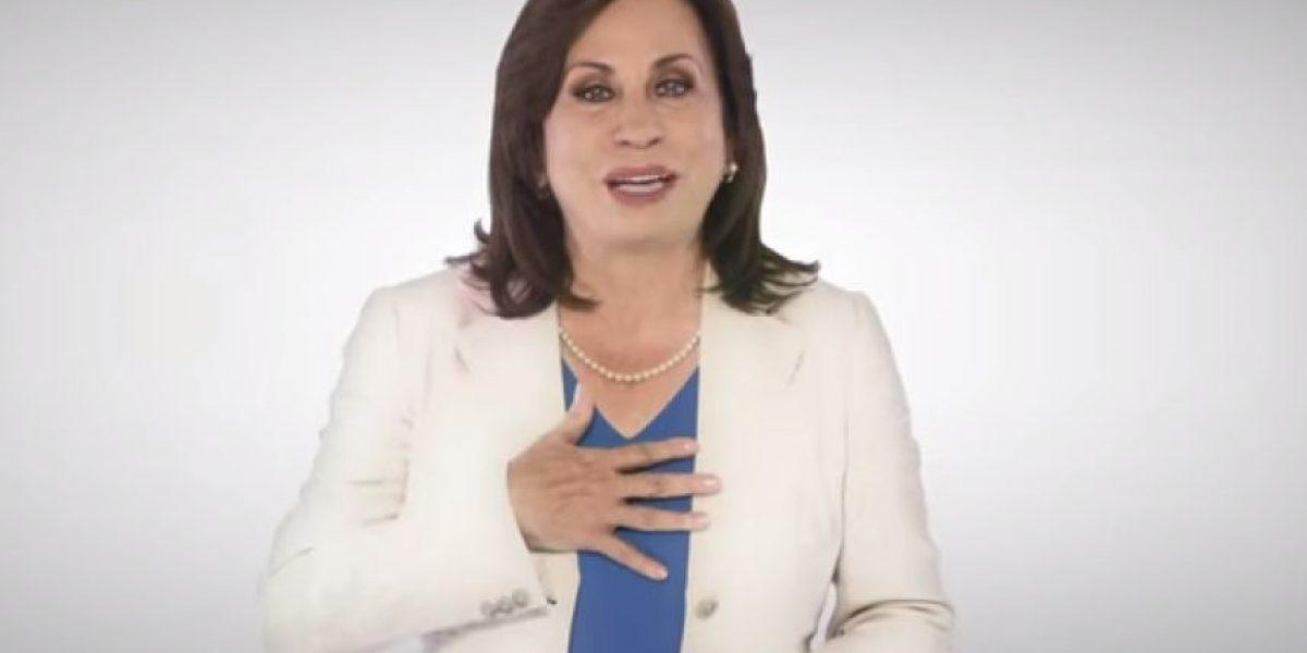 VIDEO. Sandra Torres vuelve a ofrecer programas sociales
