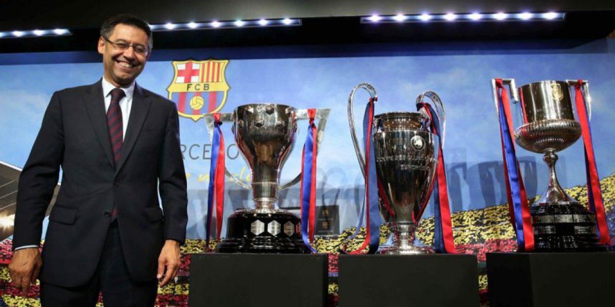 El Barcelona tuvo que pagar para recibir la felicitación del Real Madrid