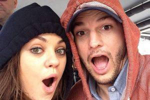 Ashton Kutcher y Mila Kunis Foto:Agencias