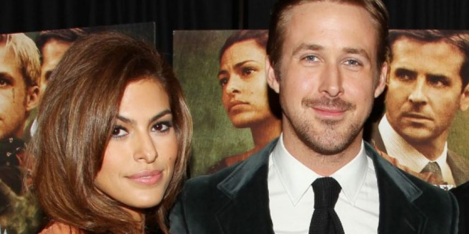 Ryan Gosling y Eva Méndes Foto:Agencias