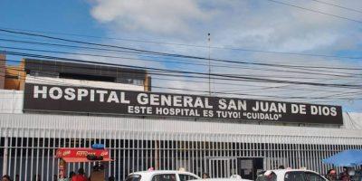 Hospital San Juan de Dios se declara en alerta amarilla