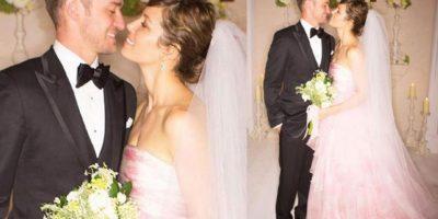 Justin Timberlake y Jessica Biel Foto:Agencias