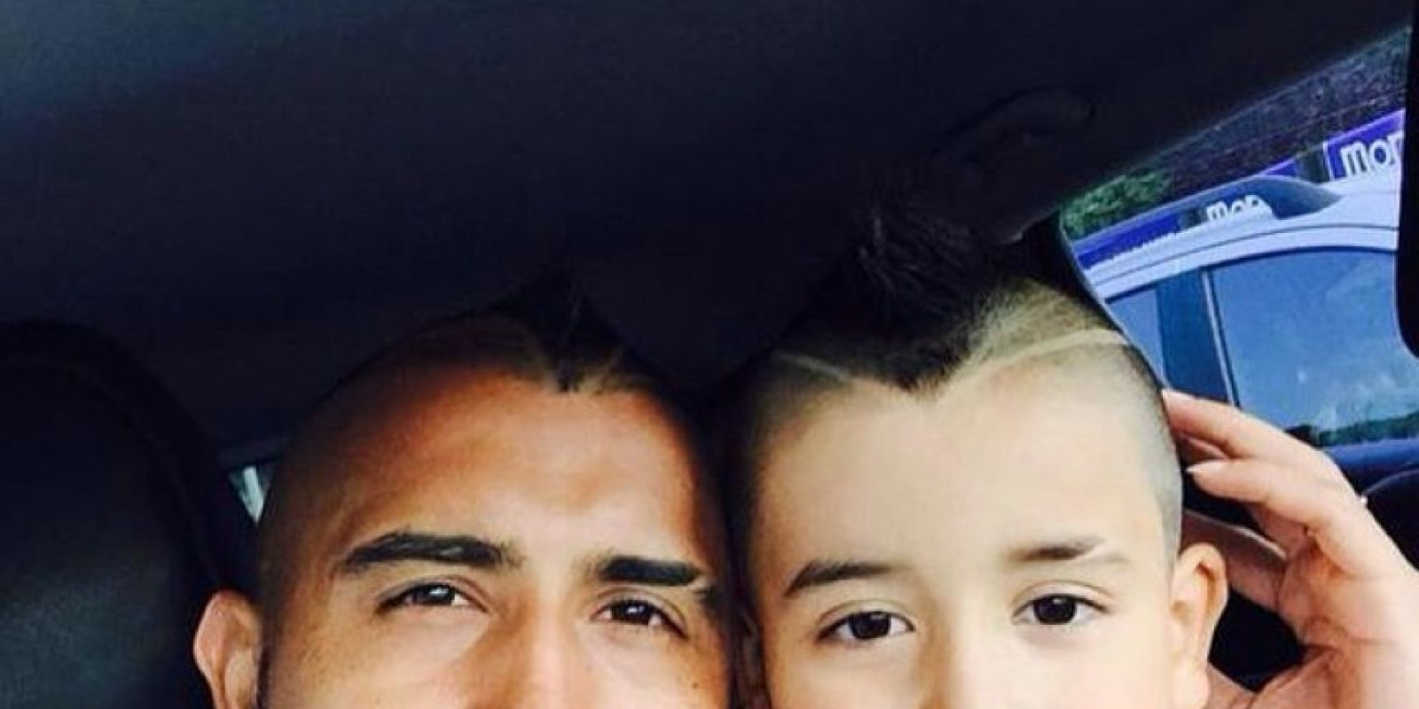 Arturo Vidal sufrió un accidente automovilístico la noche de este 16 de junio. Foto:Vía instagram.com/vidalofficial