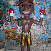 Floyd Mayweather Jr. Foto:vía facebook.com/pinateria.ramirez