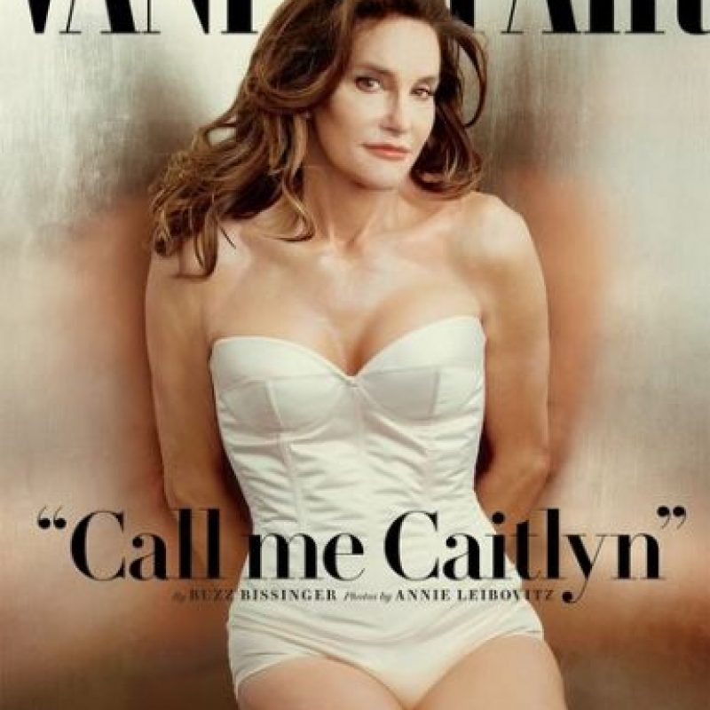 "1.- Caitlyn Jenner en la revista ""Vanity Fair"" Foto:Vanity Fair"