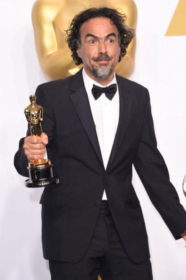 9.- Alejandro González Iñárritu en los premios Oscar Foto:Getty Images