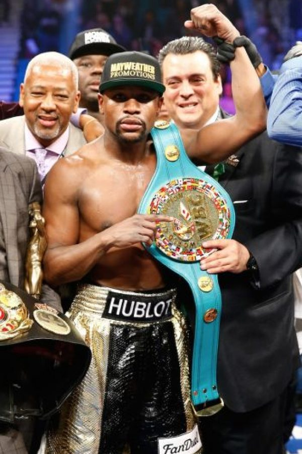 12.- Floyd Mayweather Jr. Foto: Getty Images