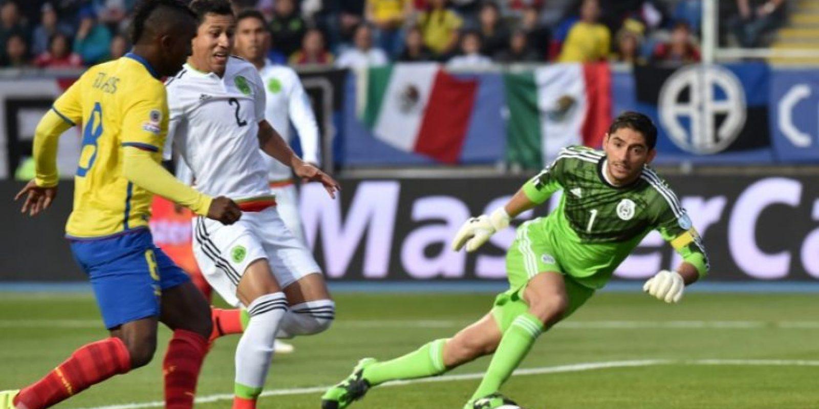 """El """"Tri"""" cayó 3-1 con Ecuador Foto:AFP"""
