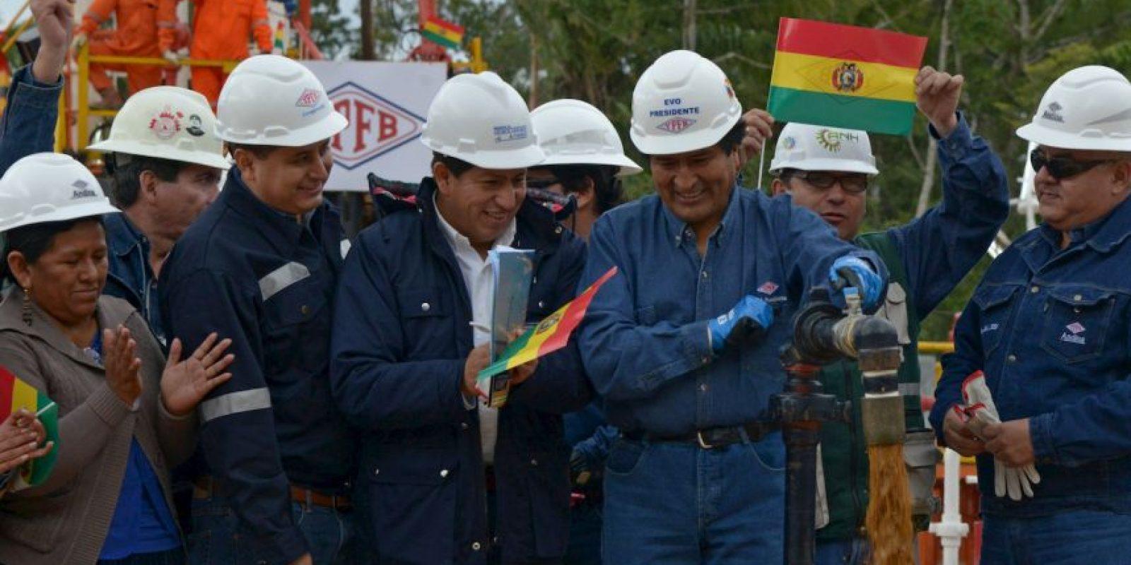 3. Los trabajos en el pozo comenzaron en 2014. Foto:AFP