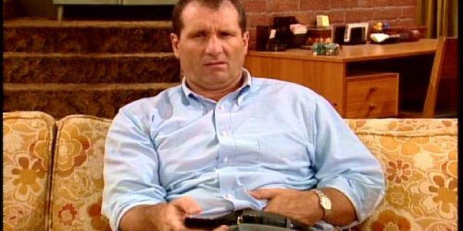 """Vivía una vida frustrada con su demandante esposa """"Peg"""". Sus hijos no tenían mucho qué ofrecer y él lo sabía. Foto:vía FOX"""