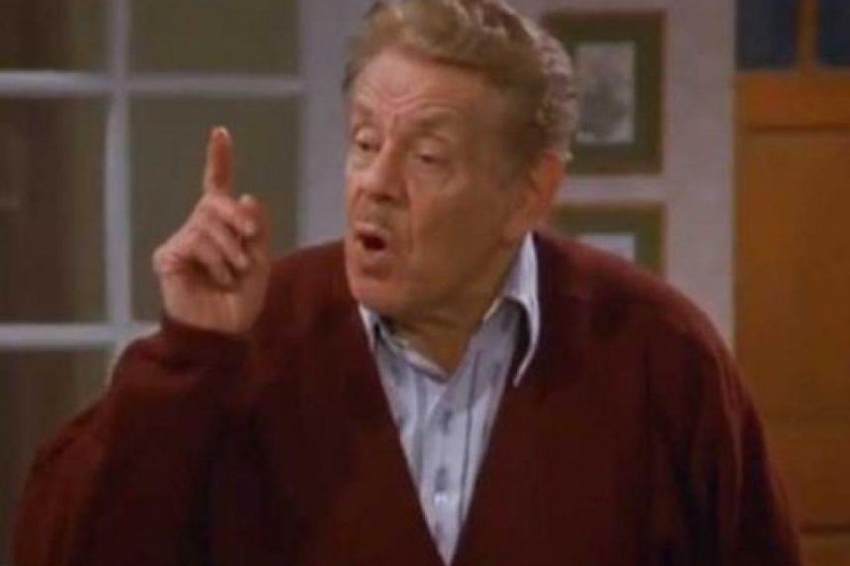 """8. Frank Costanza de """"Seinfeld"""" no apoyaba en nada a George. Foto:vía NBC"""