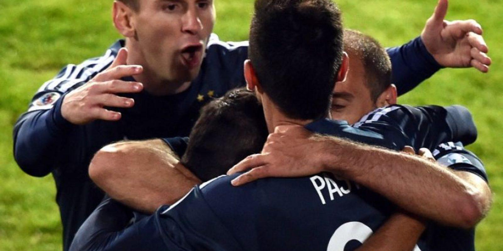 Y empataron con Paraguay en su presentación Foto:AFP