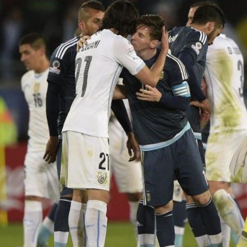 Argentina llega al duelo con cuatro puntos Foto:AFP