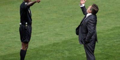También lo insultó en las redes sociales Foto:AFP