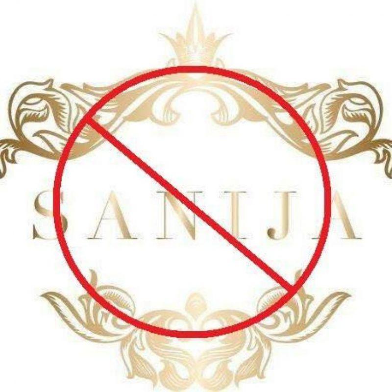Foto:vía facebook.com/Say-NO-to-Sanija-Fashion