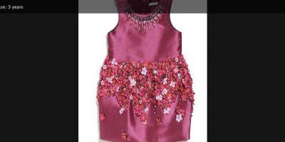 Pero las donaciones aún no terminan, este vestido rosado será subastado hasta el 28 de junio. Foto:vía facebook.com/maryslivingandgivingshop