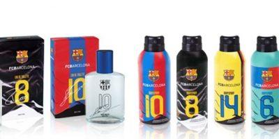 El Barcelona sacó su propia agua de colonia y además, creó ediciones especiales para algunos de sus futbolistas. Foto:mercadolibre.com.mx