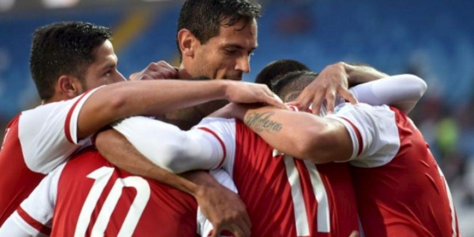 Clasificaron con dos empates y una victoria Foto:AFP