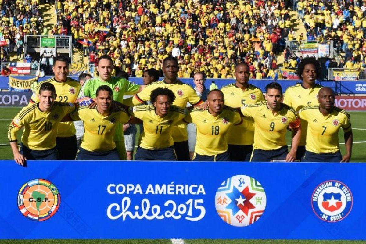 Colombia llega a su último partido del sector con tres puntos Foto:AFP