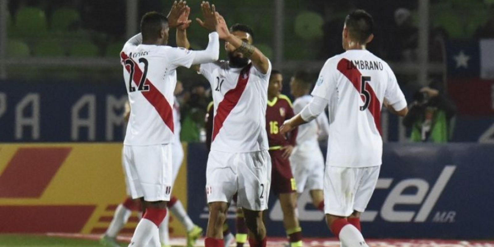 "La ""Bicolor"" venció a Venezuela Foto:AFP"