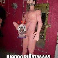 David Zepeda Foto:vía facebook.com/pinateria.ramirez