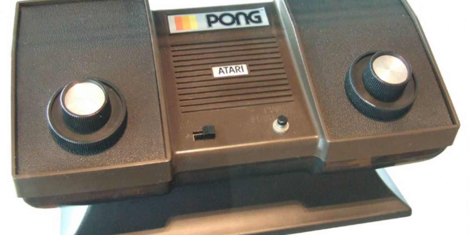 Su creación: Pong, de Atari Foto:Atari