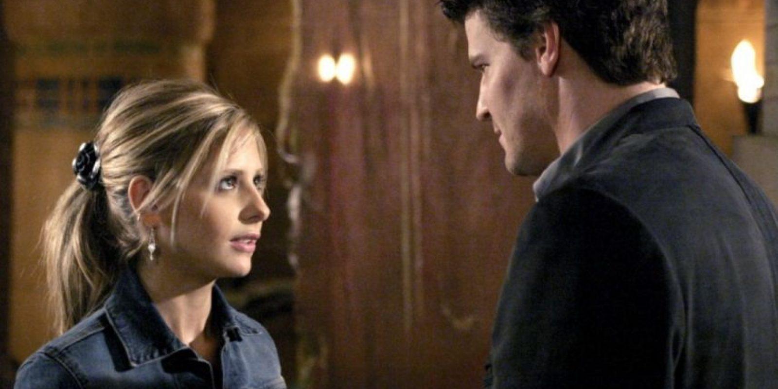"""David Boreanaz en """"Buffy, la cazavampiros"""""""