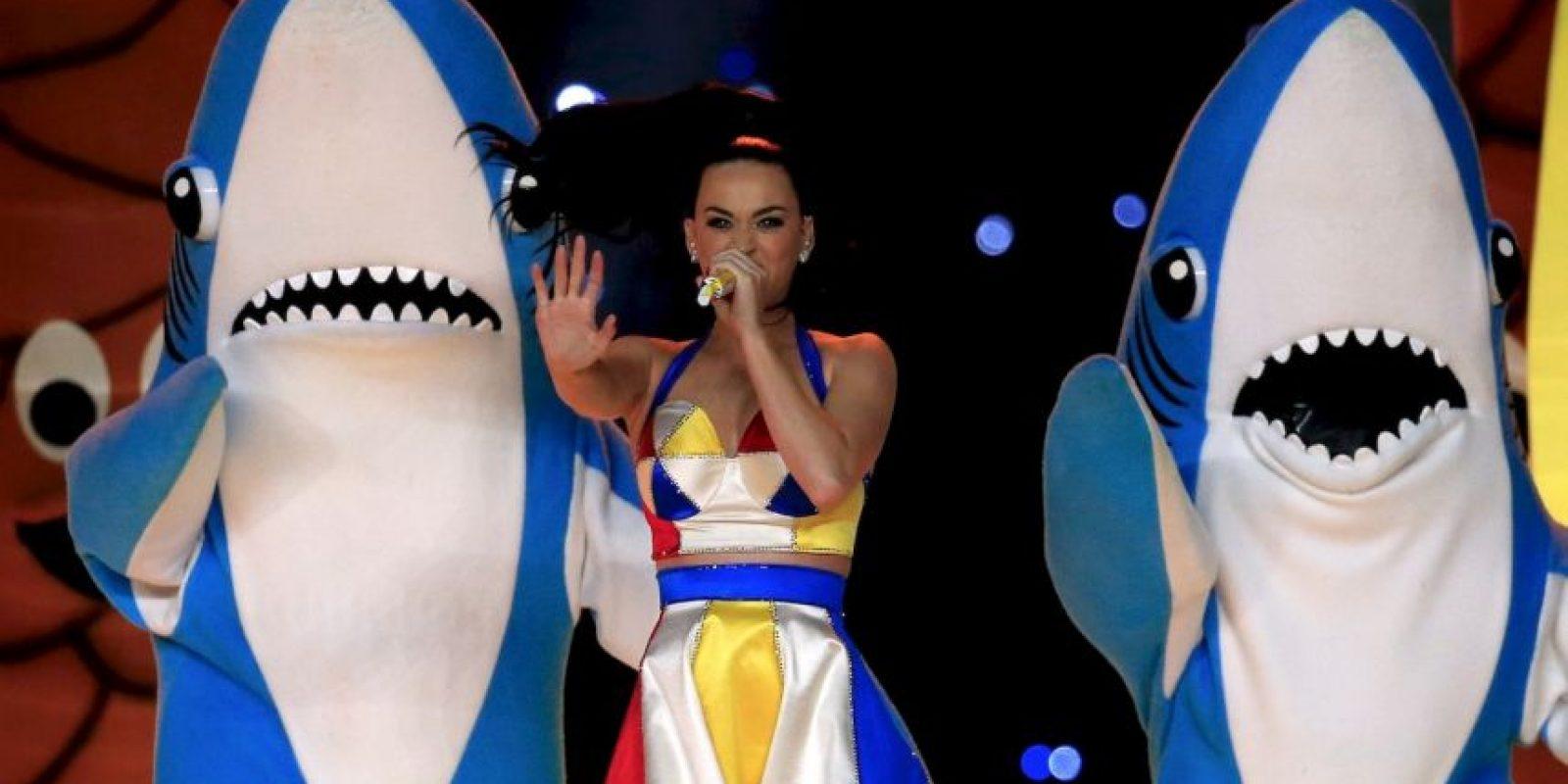 El Tiburón de la Izquierda de Katy Perry Foto:Getty Images