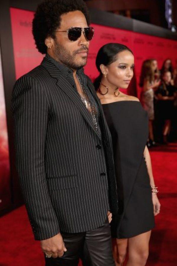Es padre de la joven Zoë Kravitz, a quien cuidó de cerca tras su divorcio con la actriz Lisa Bonet Foto:Getty Images