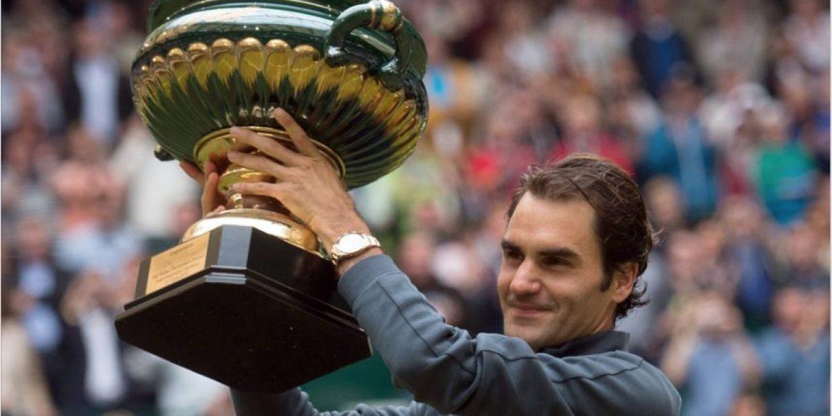 FOTOS. Este es el suizo que más trofeos suma en su carrera