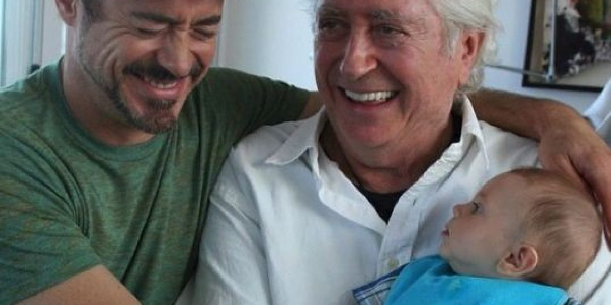 Así celebraron los famosos el Día del Padre en las redes sociales