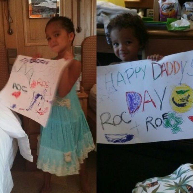 Mariah Carey compartió los dibujos de sus hijos para Nick Cannon Foto:vía instagram.com/mariahcarey