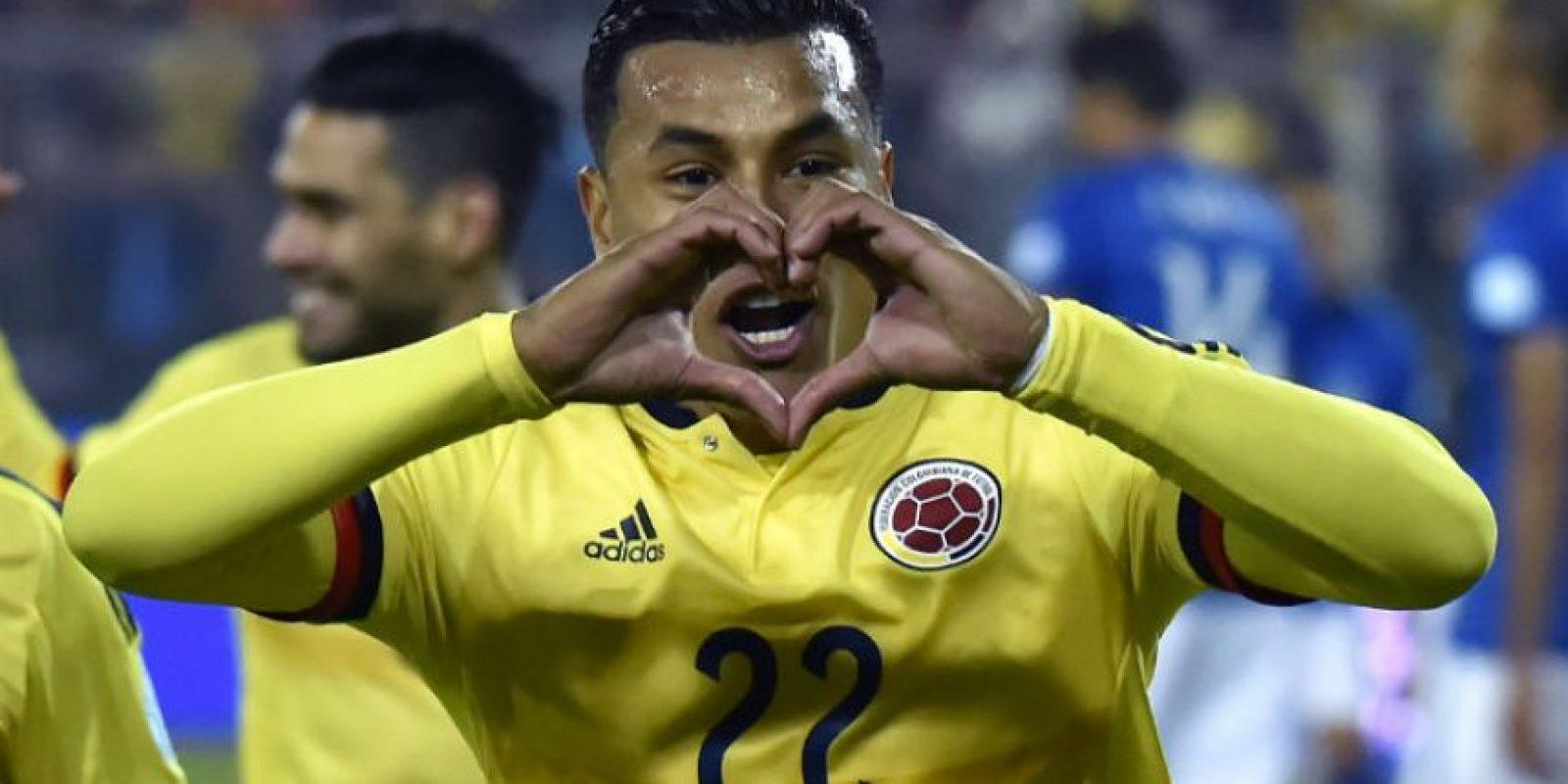 "Jeison Murillo marcó el gol del triunfo sobre el ""Scratch"" Foto:AFP"