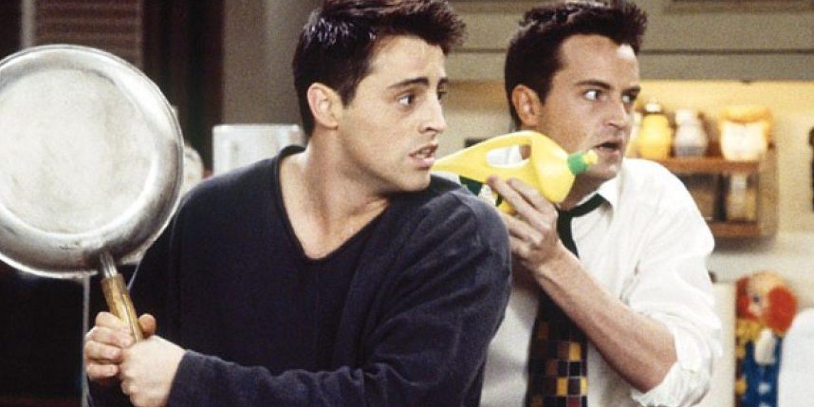 "Matt LeBlanc en ""Friends"""