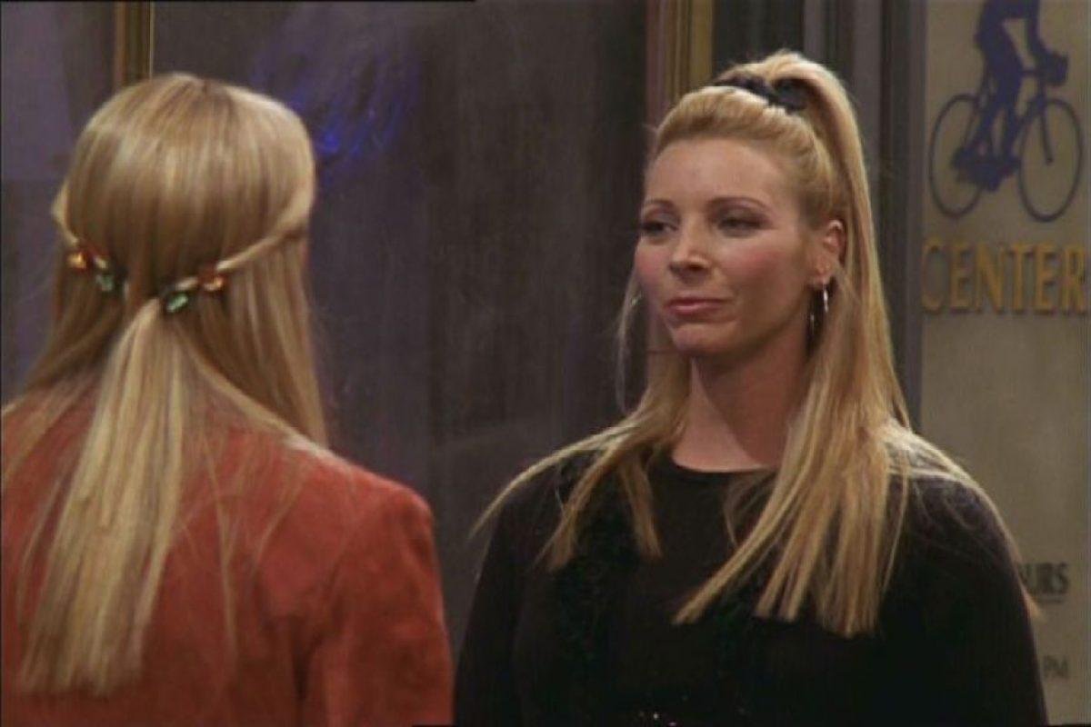 "Lisa Kudrow en ""Friends"" Foto:Agencias"
