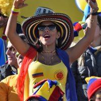 La belleza en los estadios Foto:AFP