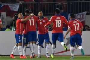 Chile jugará los cuartos de final en el Estadio Nacional, de Santiago Foto:AFP