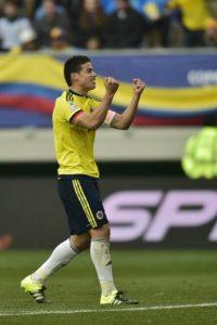 """El """"10"""" de Colombia no ha jugado como acostumbra a la afición del Real Madrid. No se ha hecho presente en el marcador Foto:AFP"""