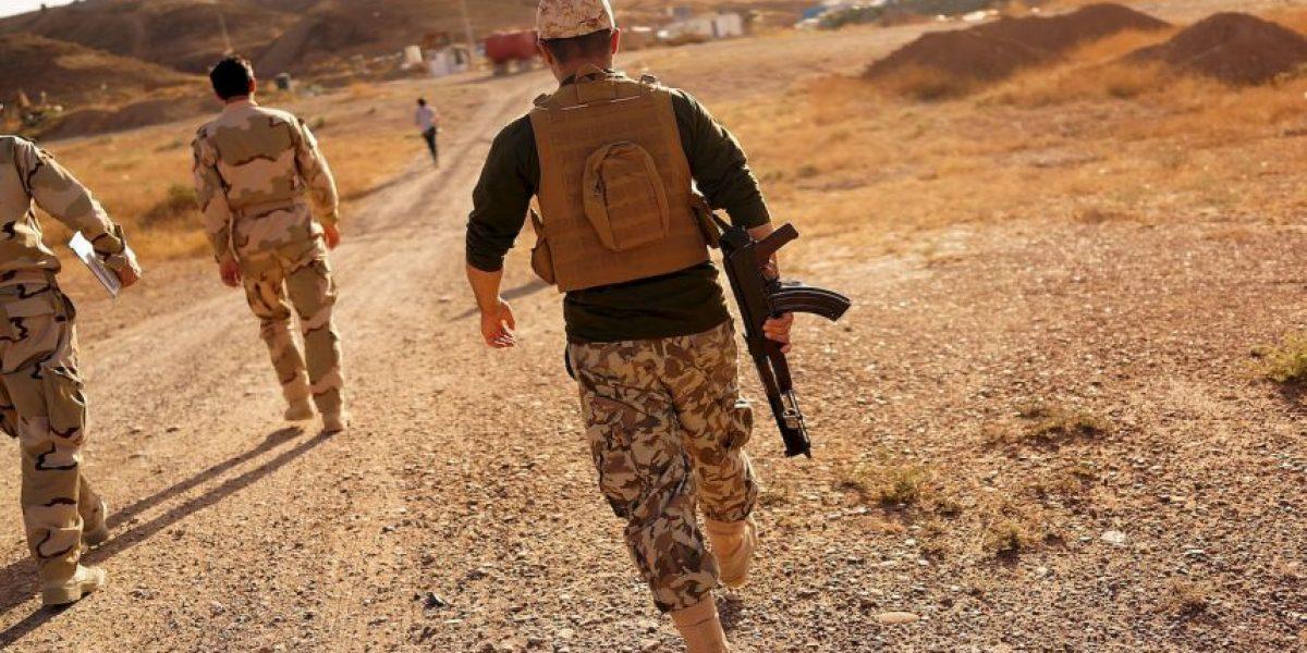 VIDEO: Terrorista de ISIS graba su muerte durante balacera