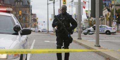 """""""El Presidente Barack Obama condena estos actos y reafirma su amistad y alianza con el pueblo canadiense"""", informó la Casa Blanca en un comunicado Foto:Getty Images"""