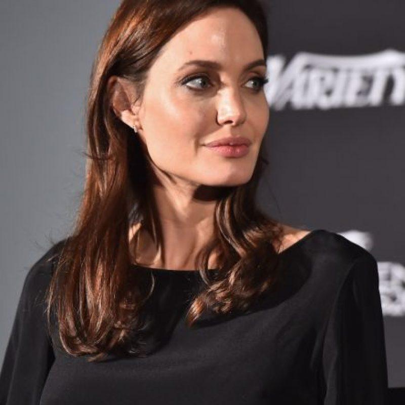 Es madre de seis hijos y en agosto del año pasado se convirtió en la esposa de Brad Pitt. Foto:Getty Images