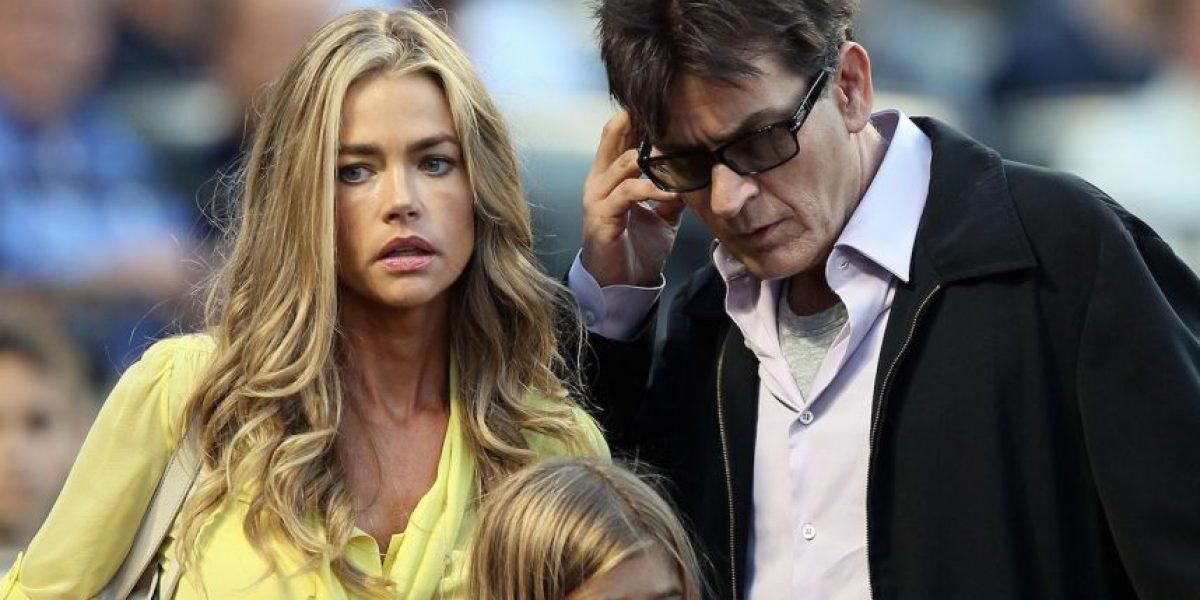 Charlie Sheen celebró el Día del Padre ofendiendo a su exesposa