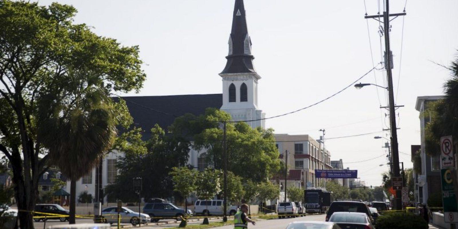 Esto después del atentado en el que murieron 9 personas afroamericanas. Foto:AP
