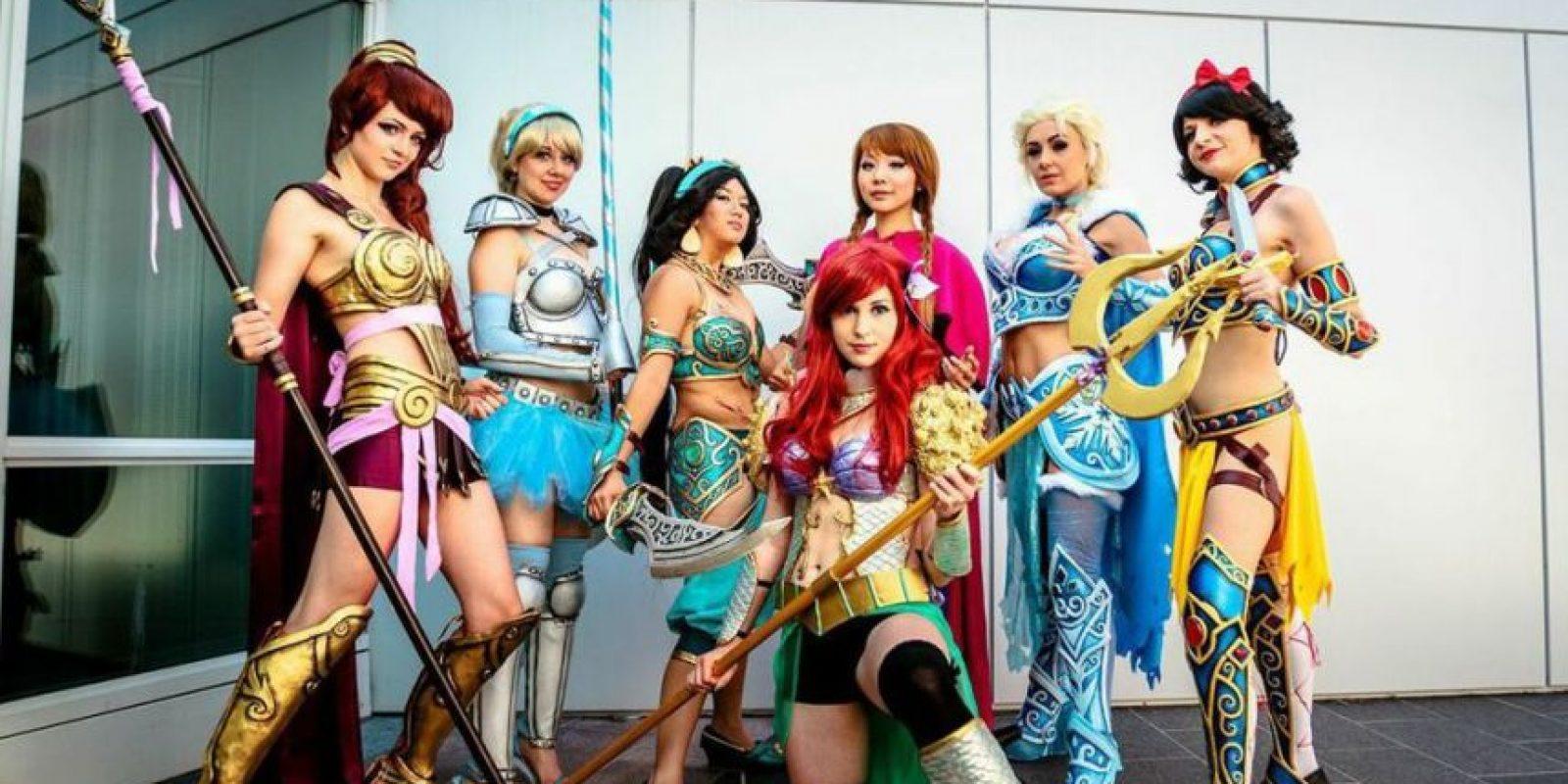 """Armadura de Elsa para Cosplay al estilo de """"Princesas Disney"""" guerreras. Foto:vía The Will Box"""