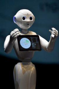 Pepper puede hablar cuatro idiomas y próximamente más. Foto:Getty Images