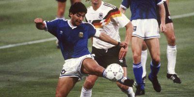 Pero ahi él y Argentina perdieron la final ante Alemania. Foto:Getty Images